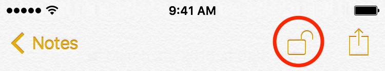 iOS 9 Notes password protection iPhone screenshot 005