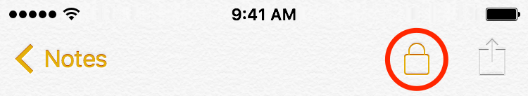 iOS 9 Notes password protection iPhone screenshot 006