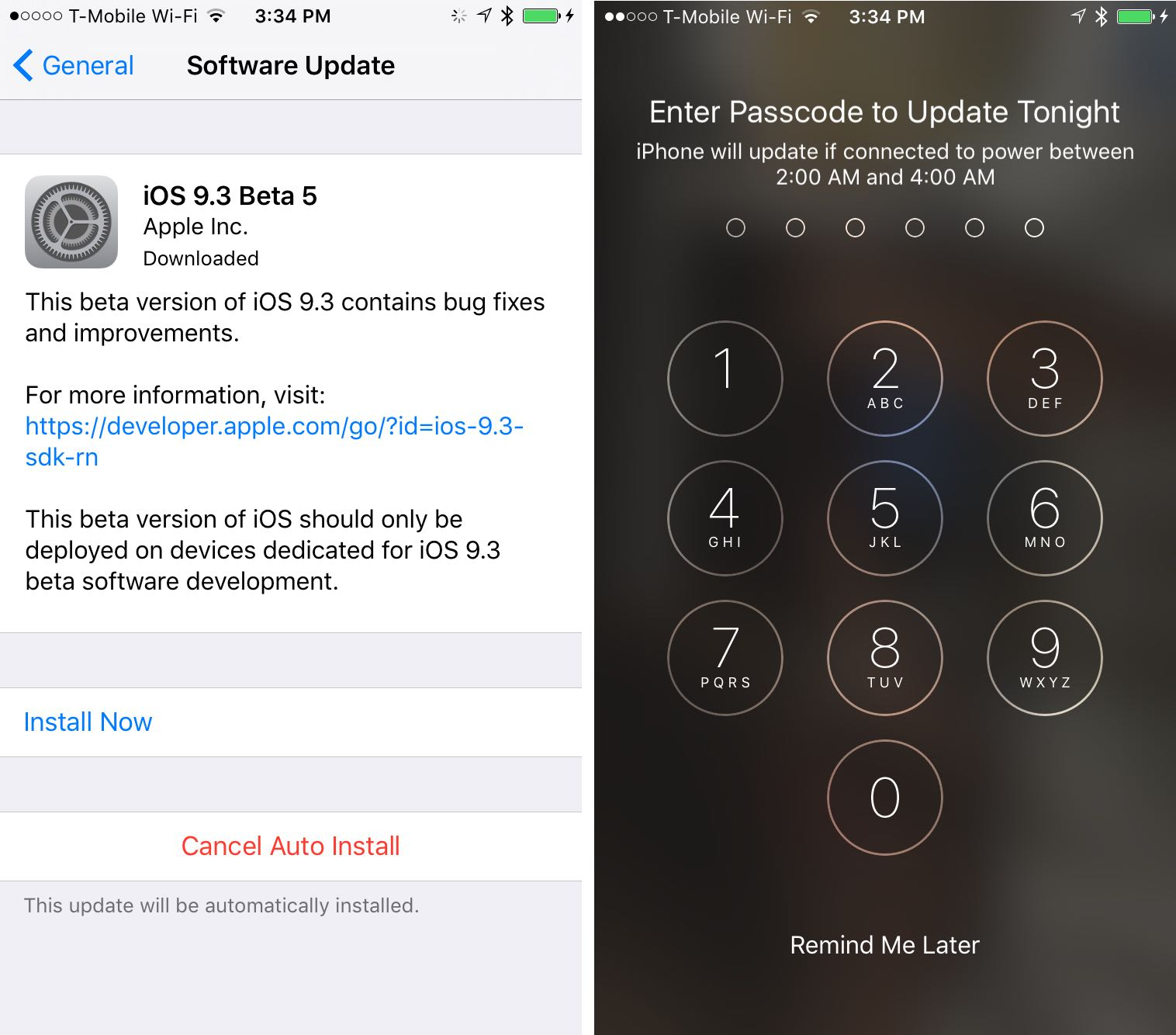 automatic app updates iphone automatically installing ios software updates in the 13528