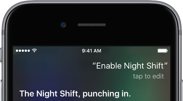 Captura de pantalla 001 de iOS 9.3 Siri Enable Night Shift iPHone