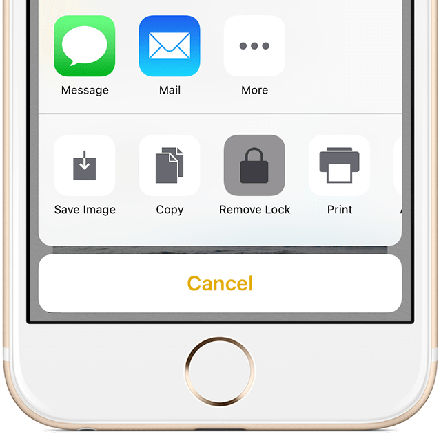 iOs 9 Notes protection remove lock iPhone screenshot 001