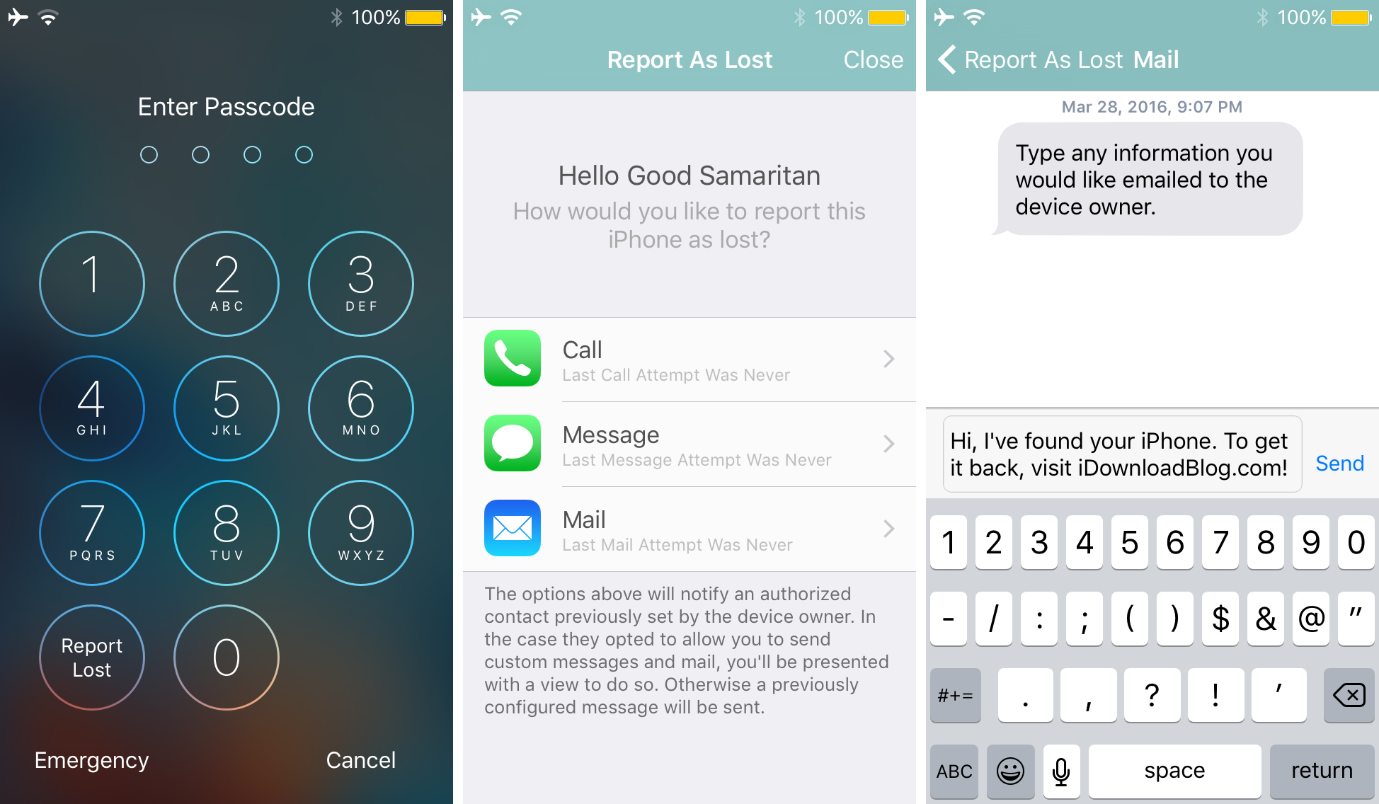 iffound 3 helps people return a lost iPhone to the owner