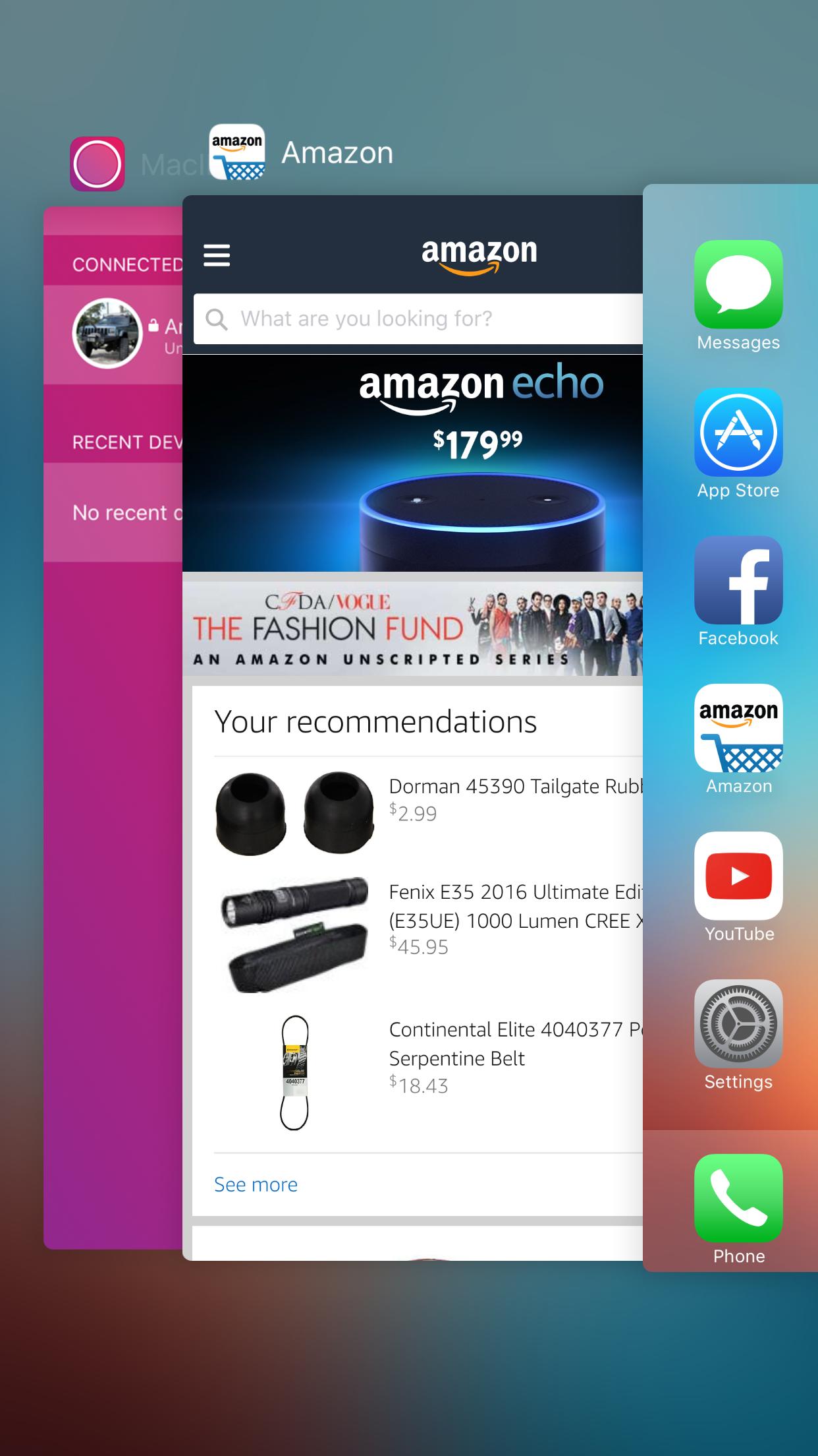 Matar una aplicación desde el selector de aplicaciones iOS