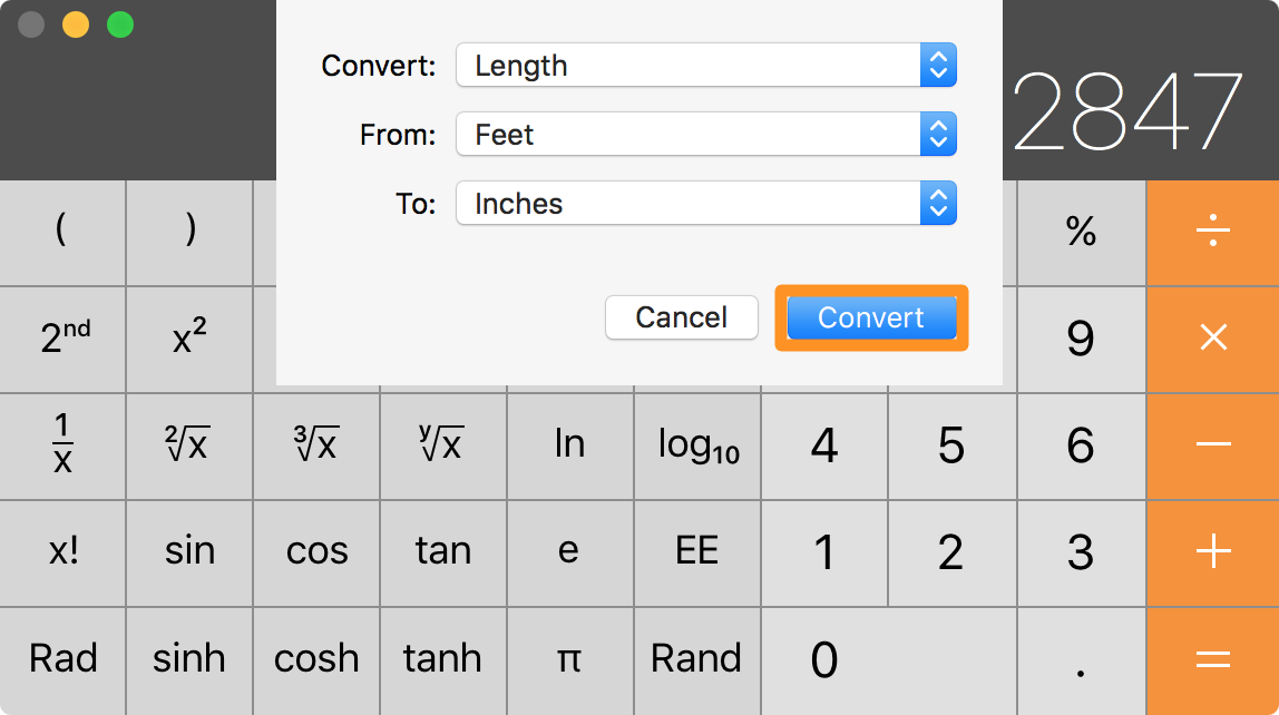 os x calculator unit conversion guide 3