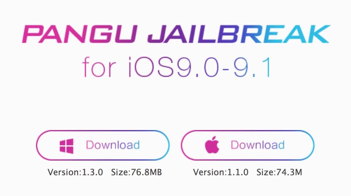 pangu jailbreak 9.1