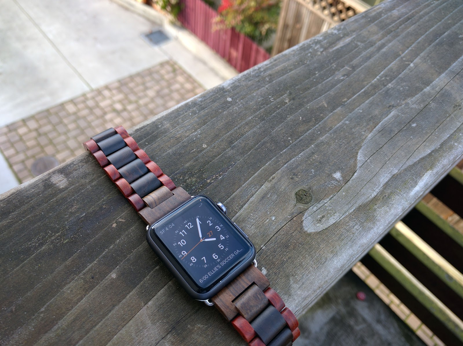 Ottm Sandalwood Apple Watch Band
