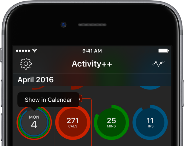 Activity PlusPlus for iOS iPhone screenshot 002