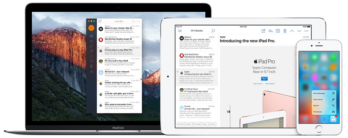 AirMail for Mac and iOS teaser 001
