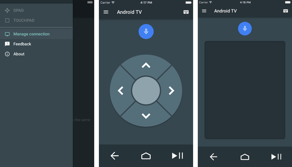 Android TV 1.0 for iOS iPhone screenshot 001