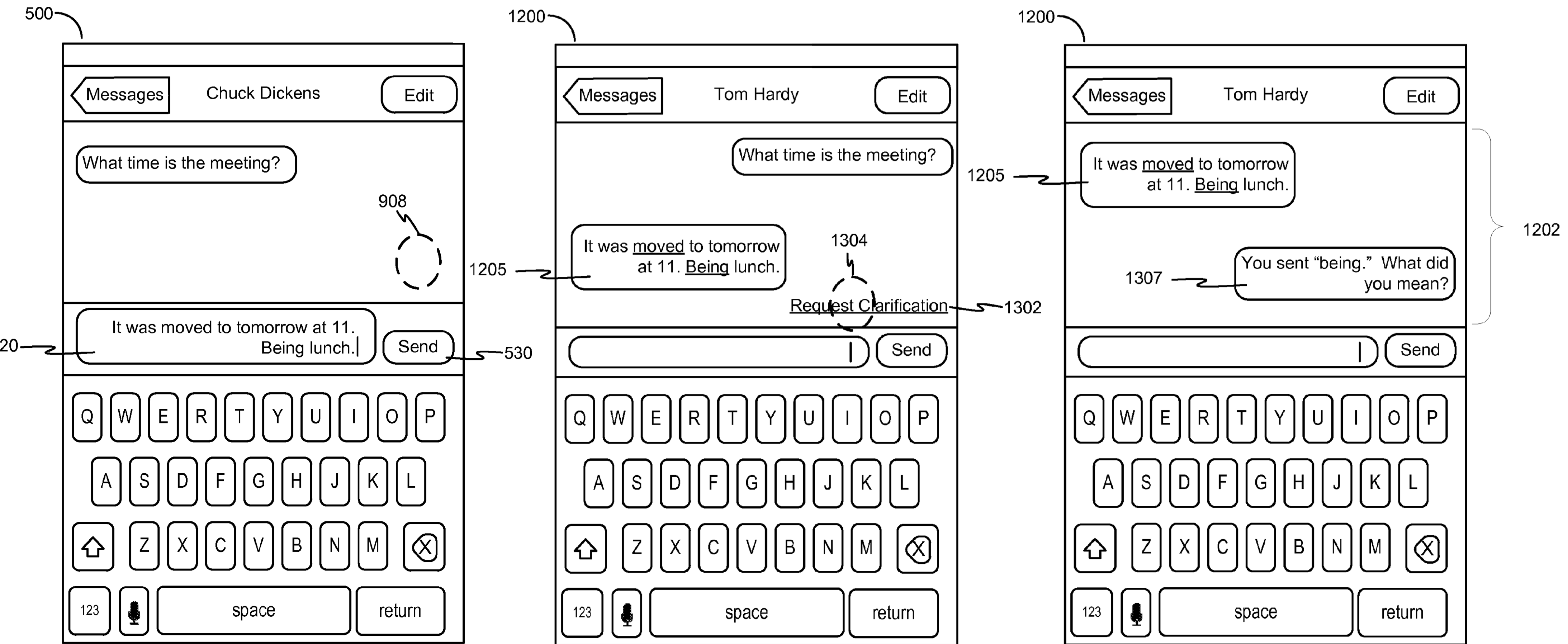Apple patent smarter Auto-Correction drawing 001