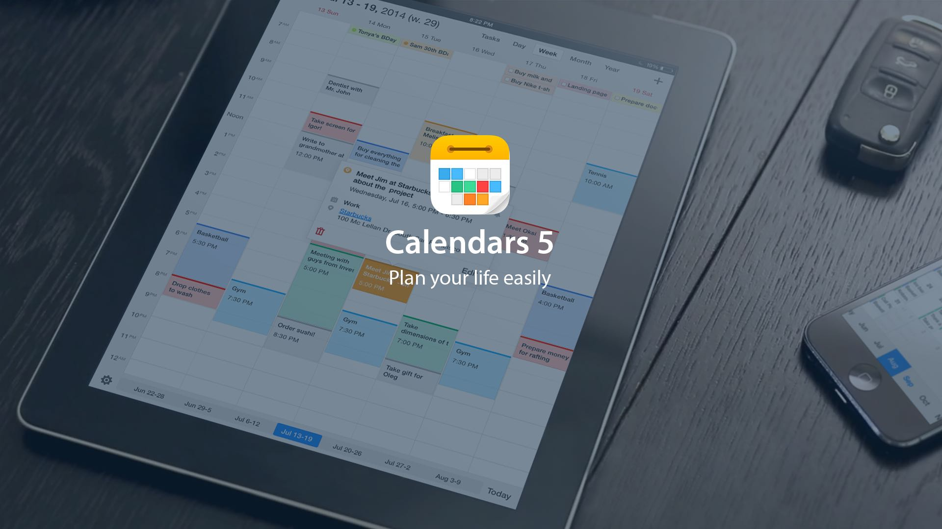 Calendars 5 for iOS teaser 001