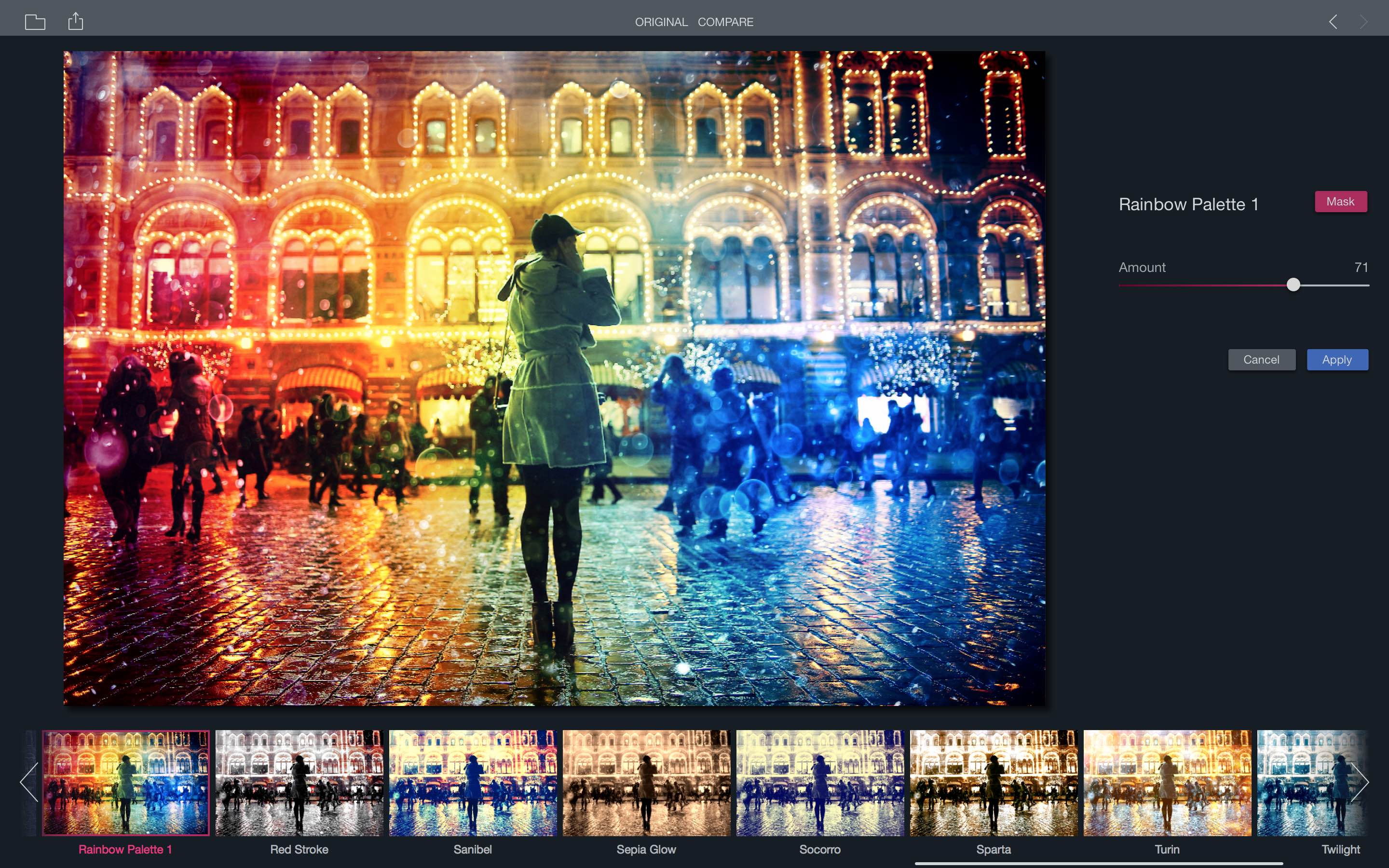 Filters for Photos Color Rainbow Mac screenshot 001