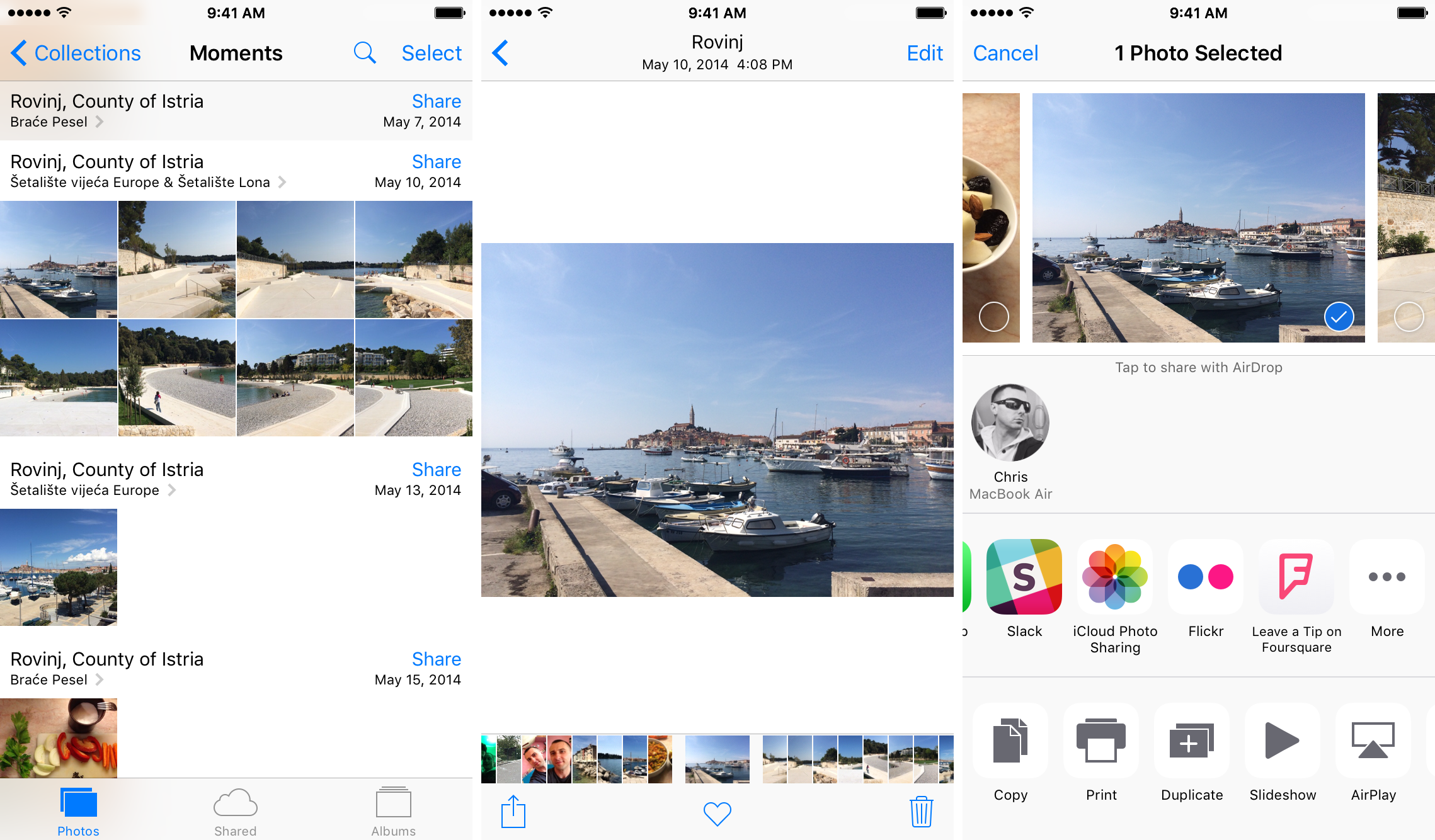Foursquare 9.16 for iOS Photos extensions iPhone screenshot 002