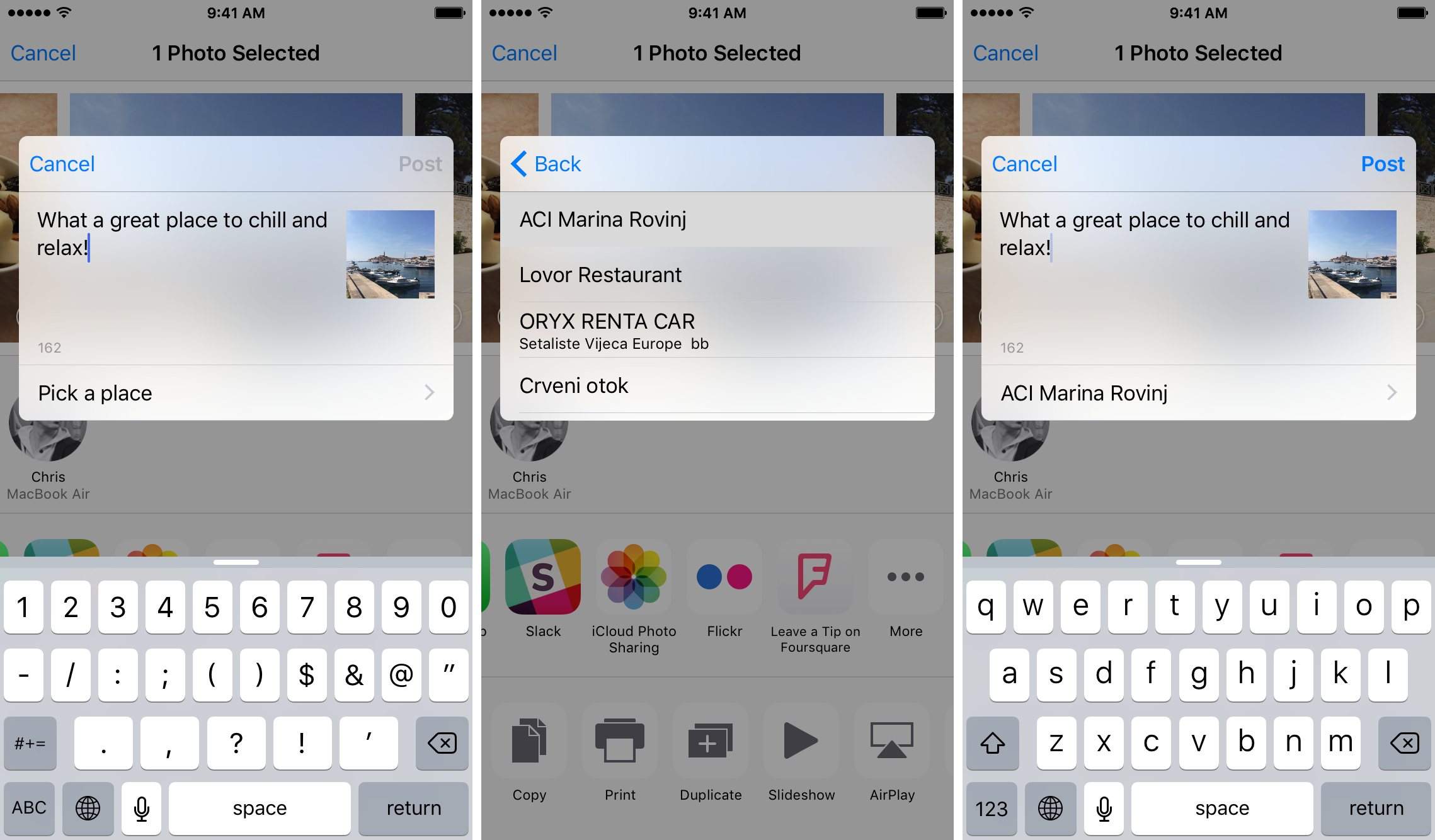 Foursquare 9.16 for iOS Photos extensions iPhone screenshot 003