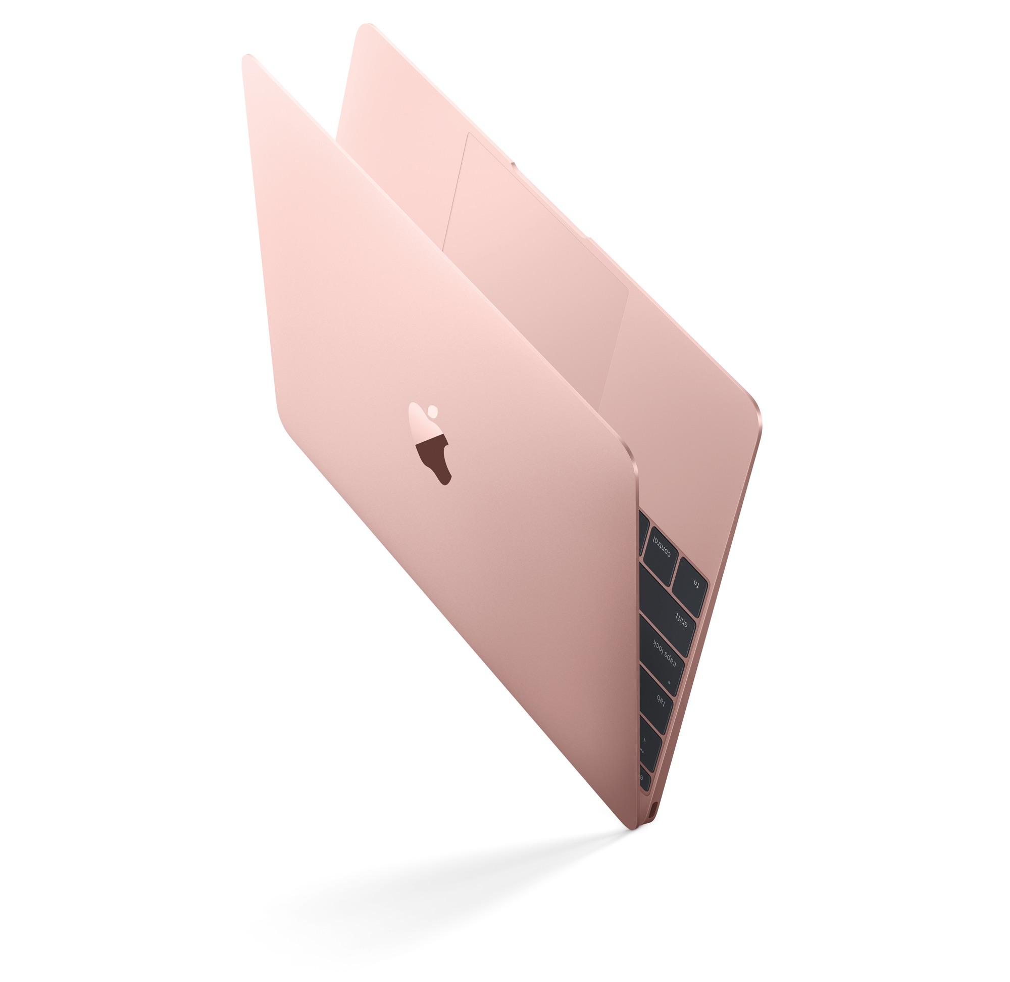 Apple Updates 12 Quot Macbook With Faster Cpu Gpu Rose Gold