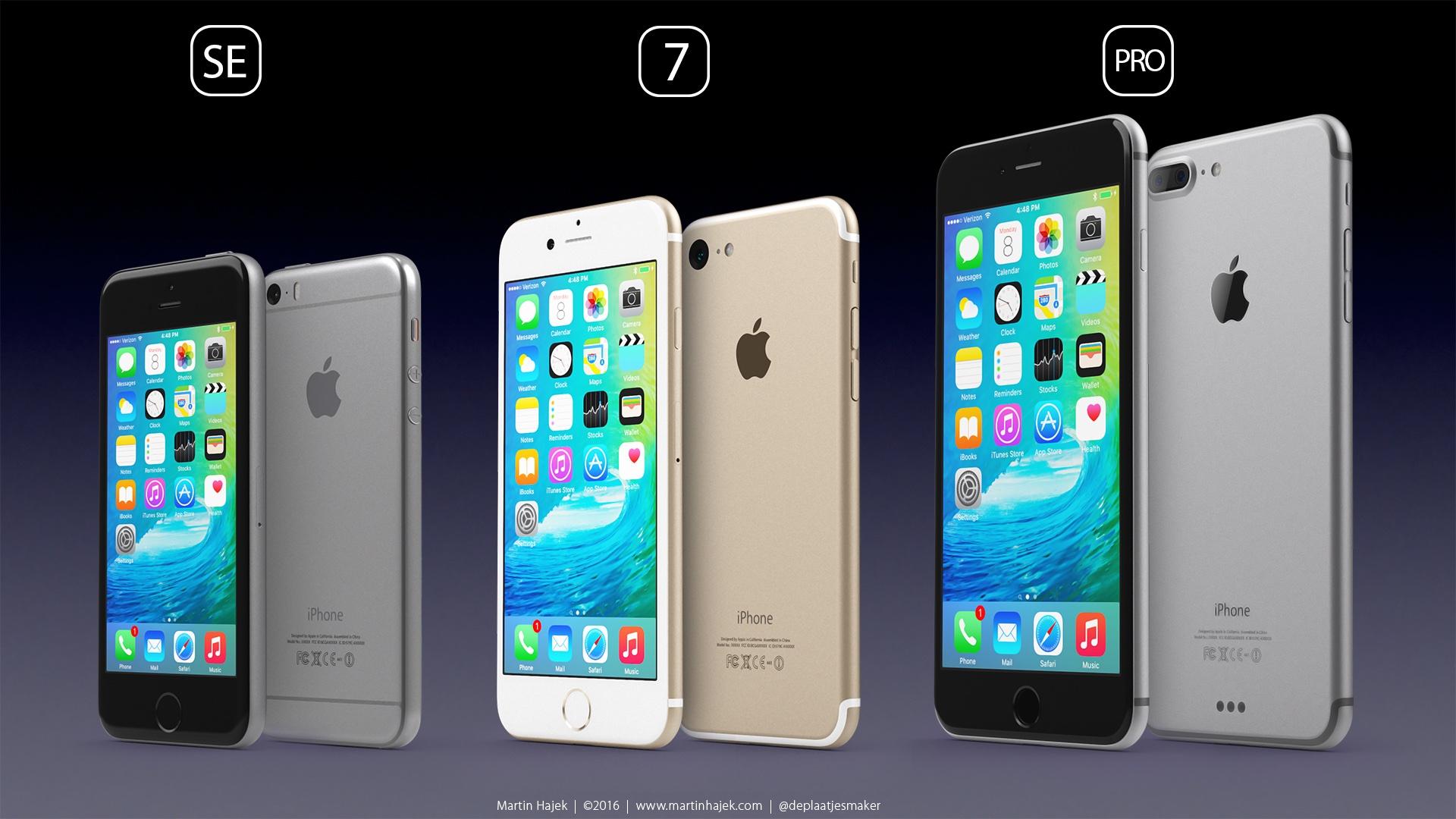 Martin Hajek Concept iPhone se iPhone 7 iPhone Pro image 001