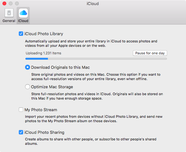 Download originals to this Mac