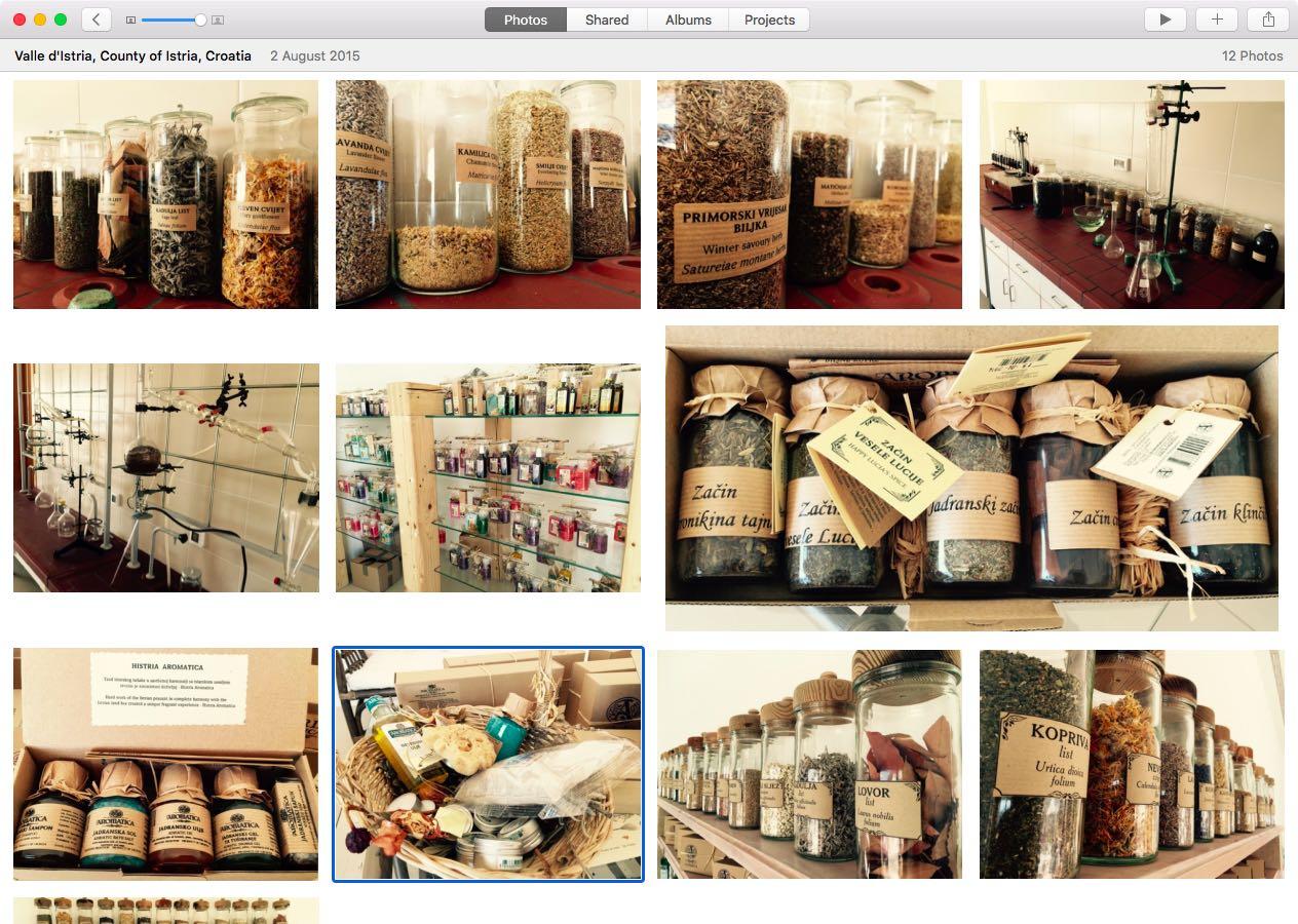 OS X El Capitan Photos map Mac screenshot 003