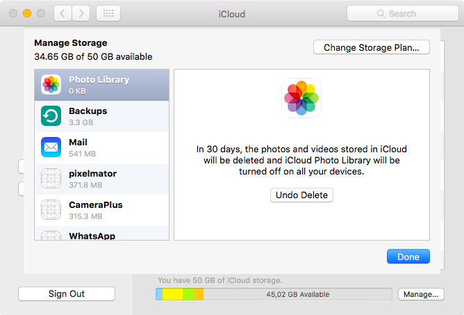 How to disable iCloud Photo Library everywhere and recover your