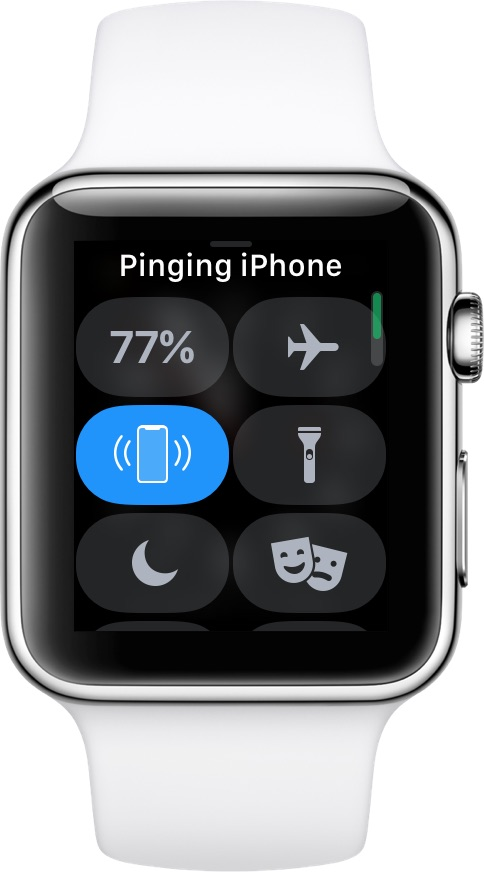 Hacer ping al iPhone desde Apple Watch
