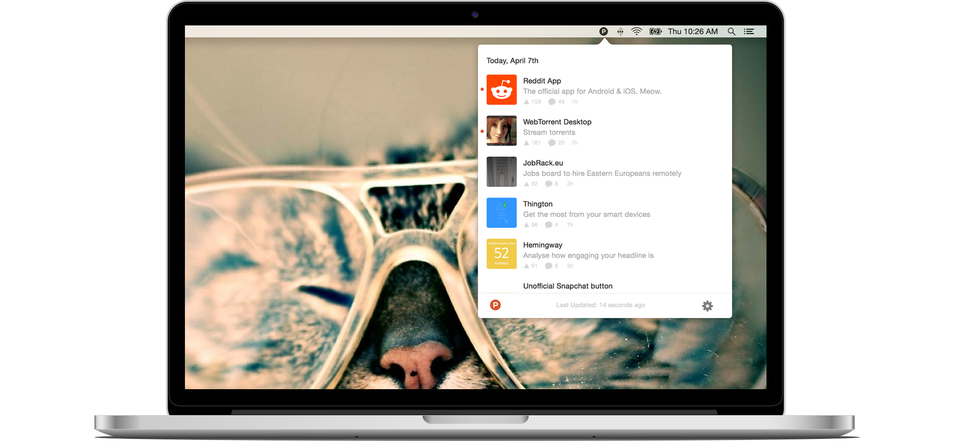 Product Hunt for iOS Mac teaser 001