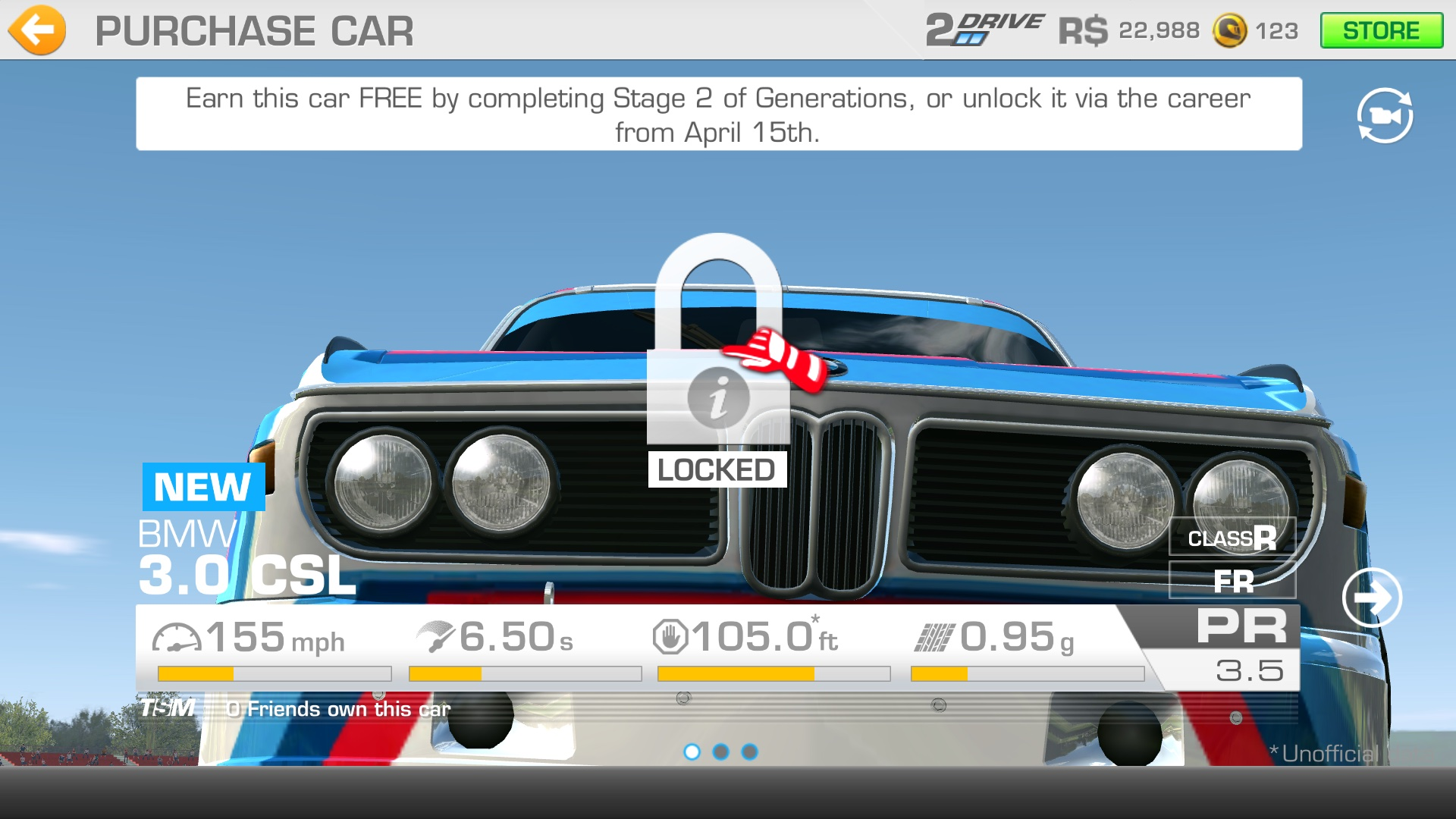 Real Racing 3 Hennessy Venom update Apple TV screenshot 001