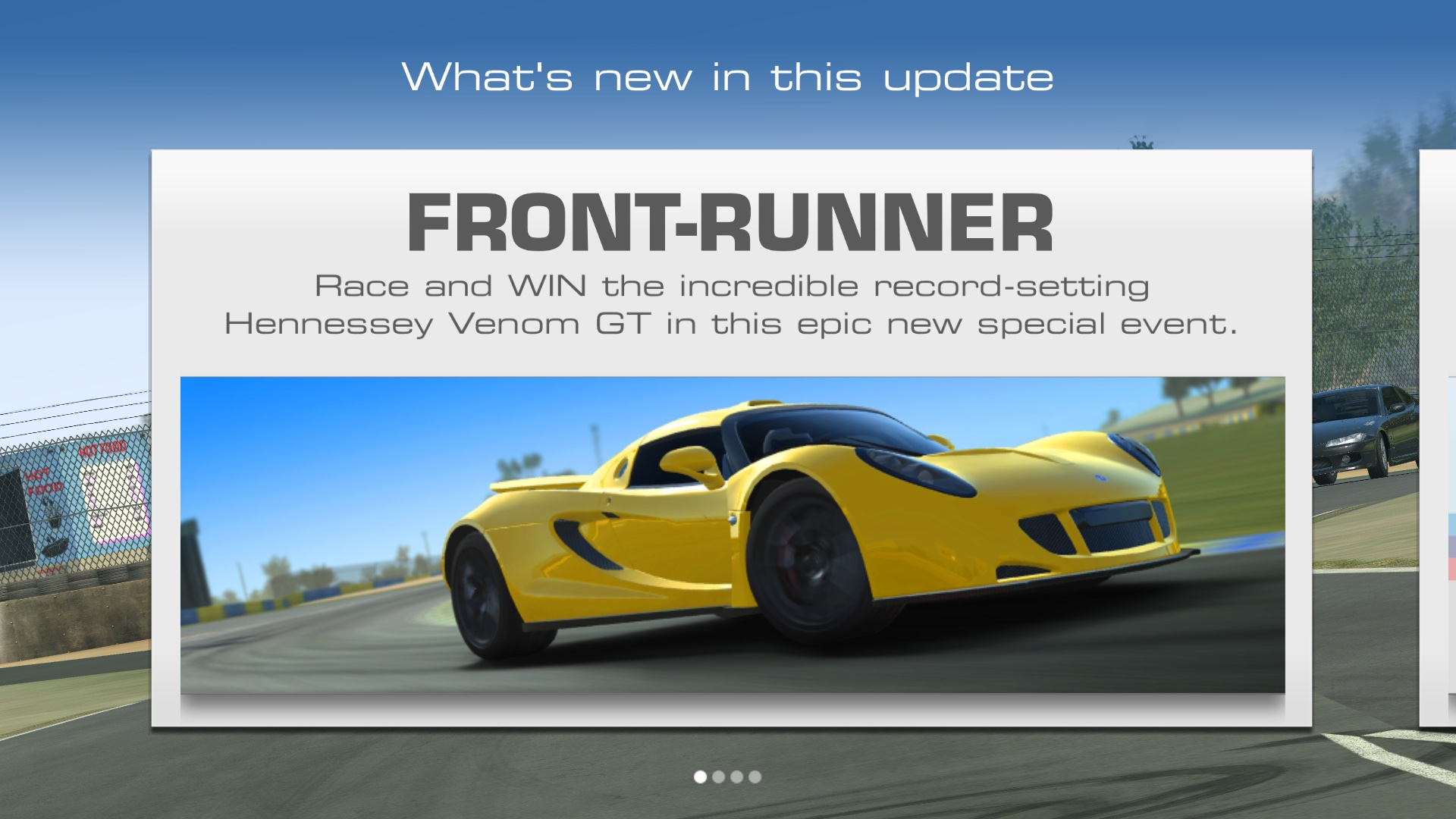 Real Racing 3 Hennessy Venom actualiza la captura de pantalla 002 de Apple TV