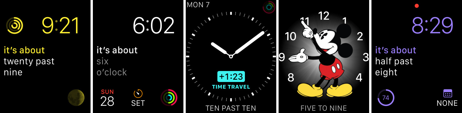 Roughly 1.1 for iOS Apple Watch screenshot 001