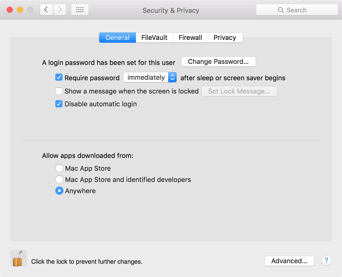 WWDC 2016 widget security settings
