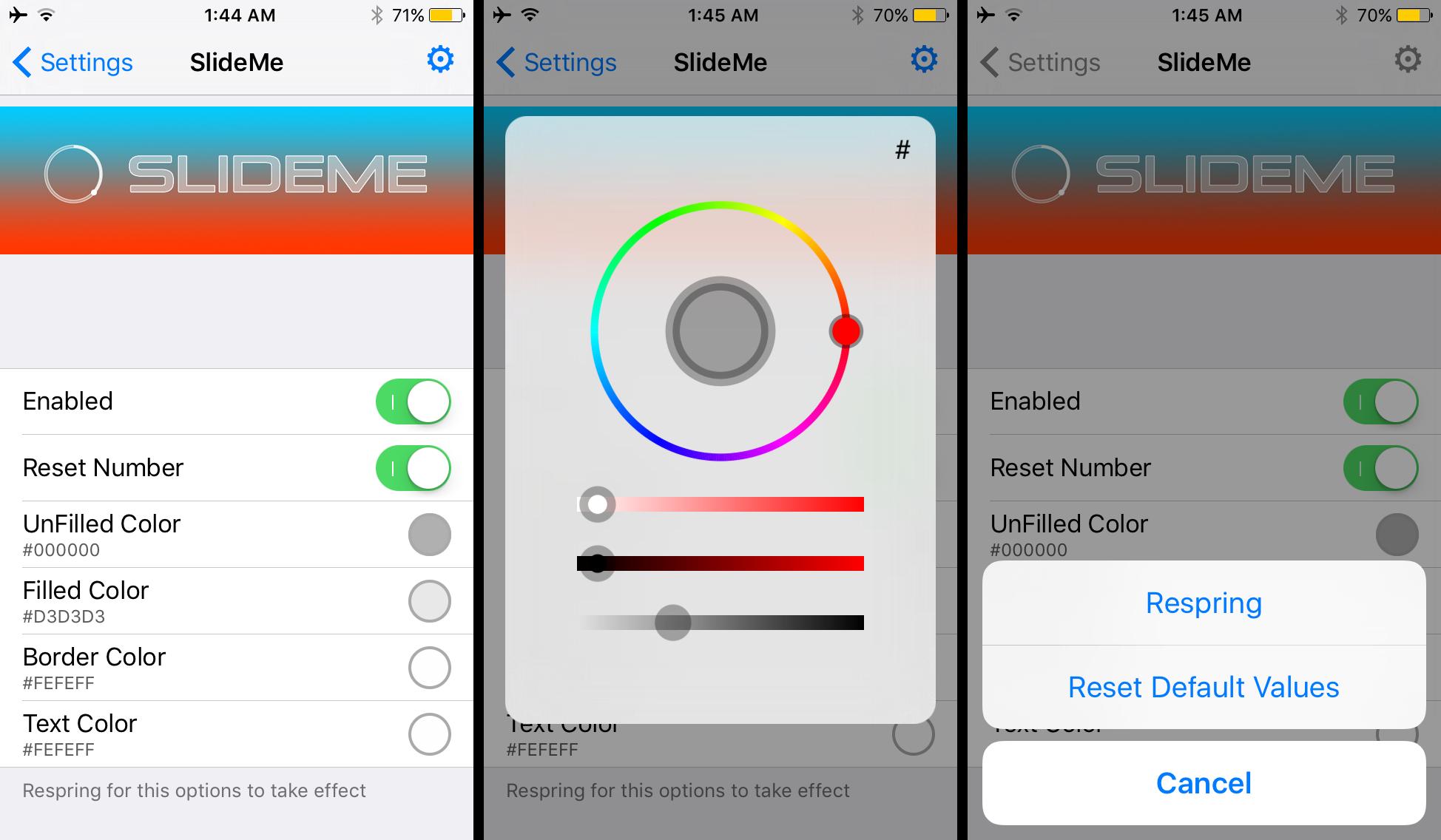 SlideMe Preferences Pane Options to Configure