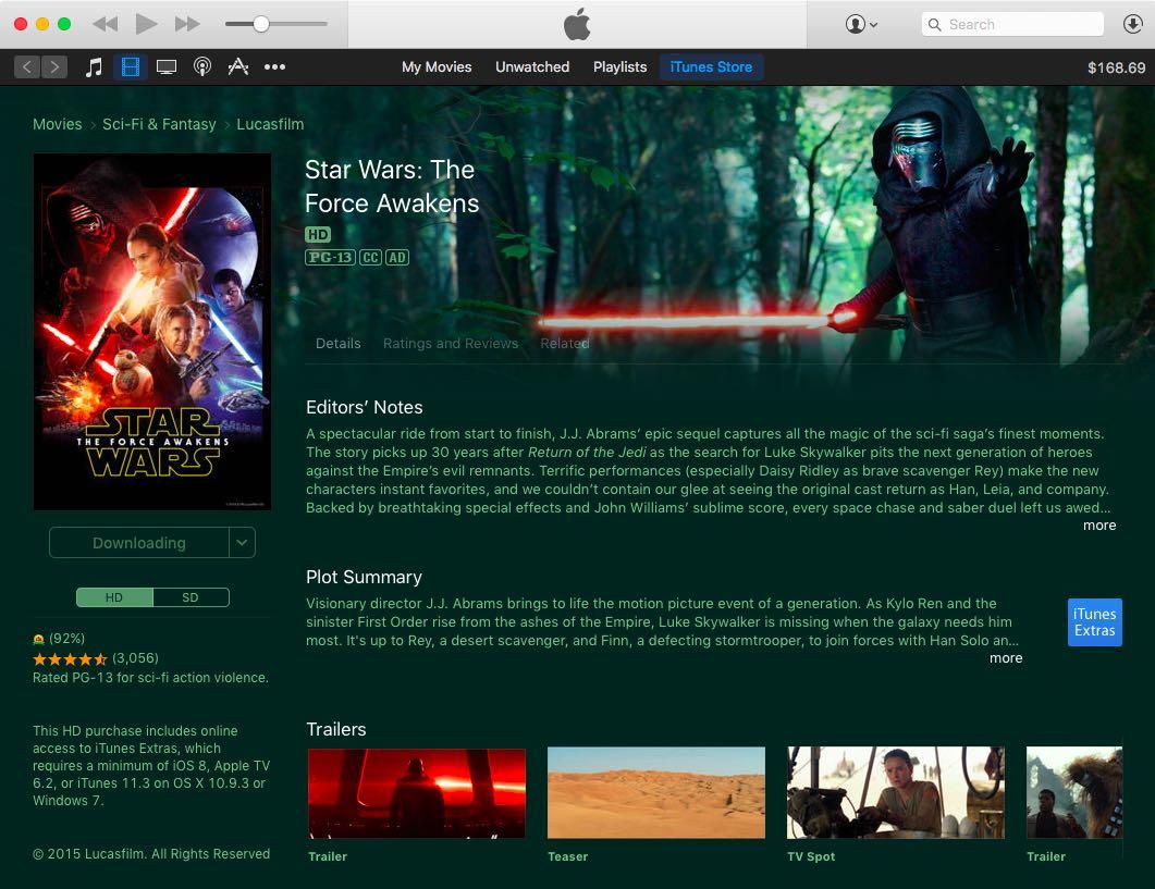 Star Wars Force Awakeness on iTunes
