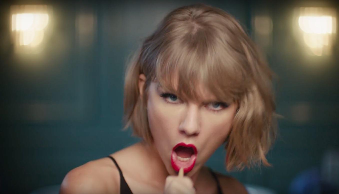Taylor Swift Mic Drop ad Apple Music 001