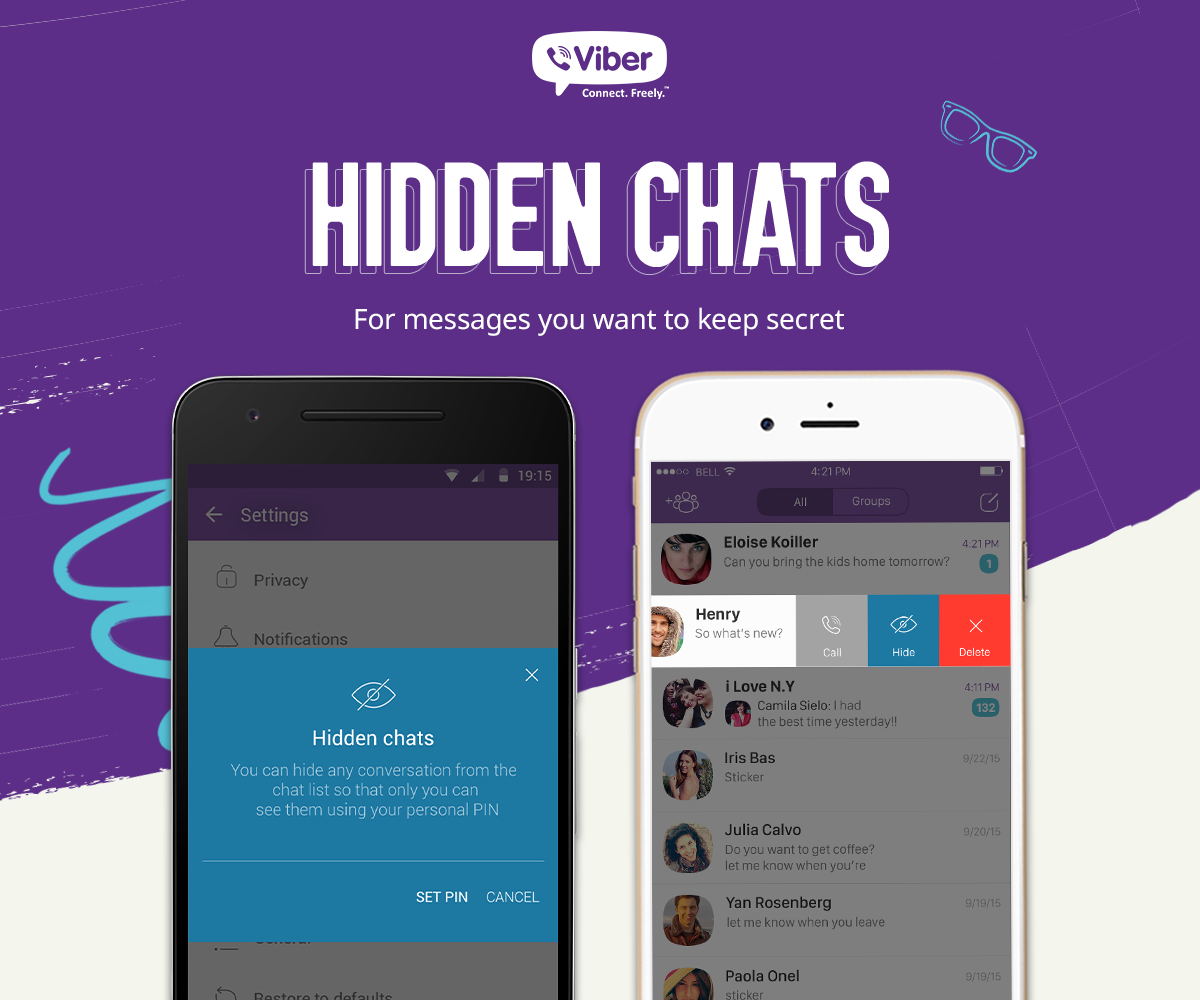 Viber 6.0 for iOS security features teaser 002