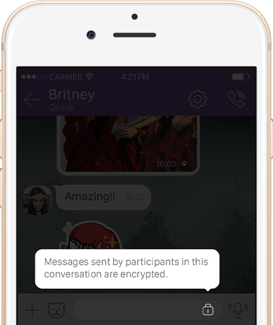 Viber 6.0 for iOS security features teaser 003