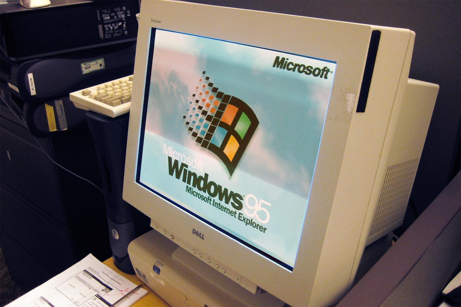 Windows 95 computer