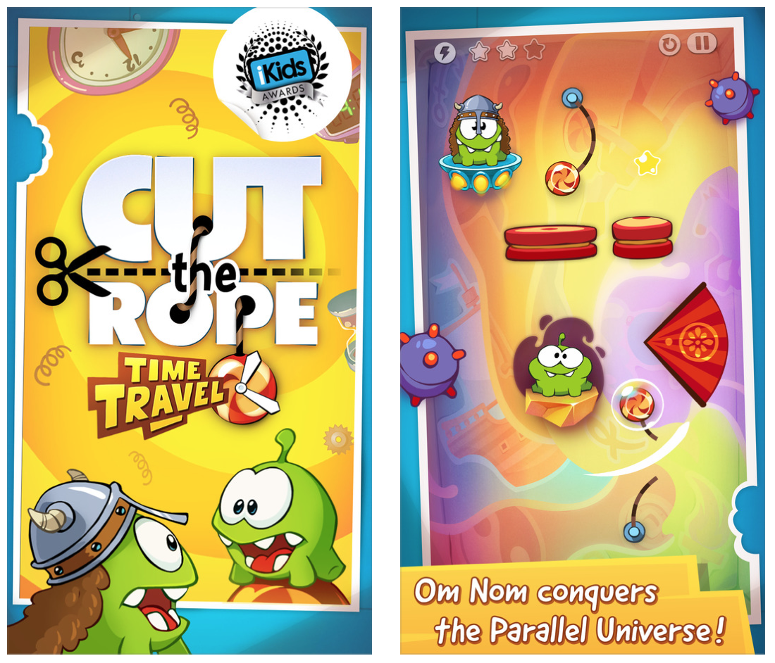 cut rope time