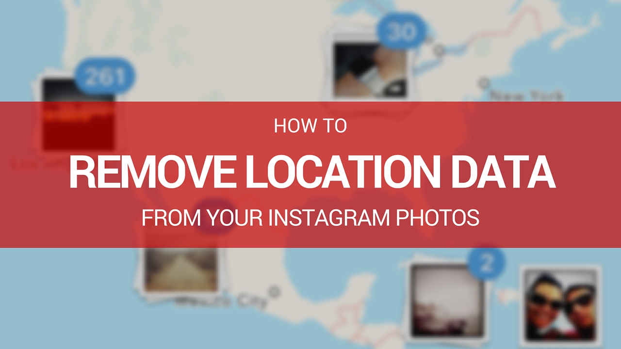 how to delete instagram location