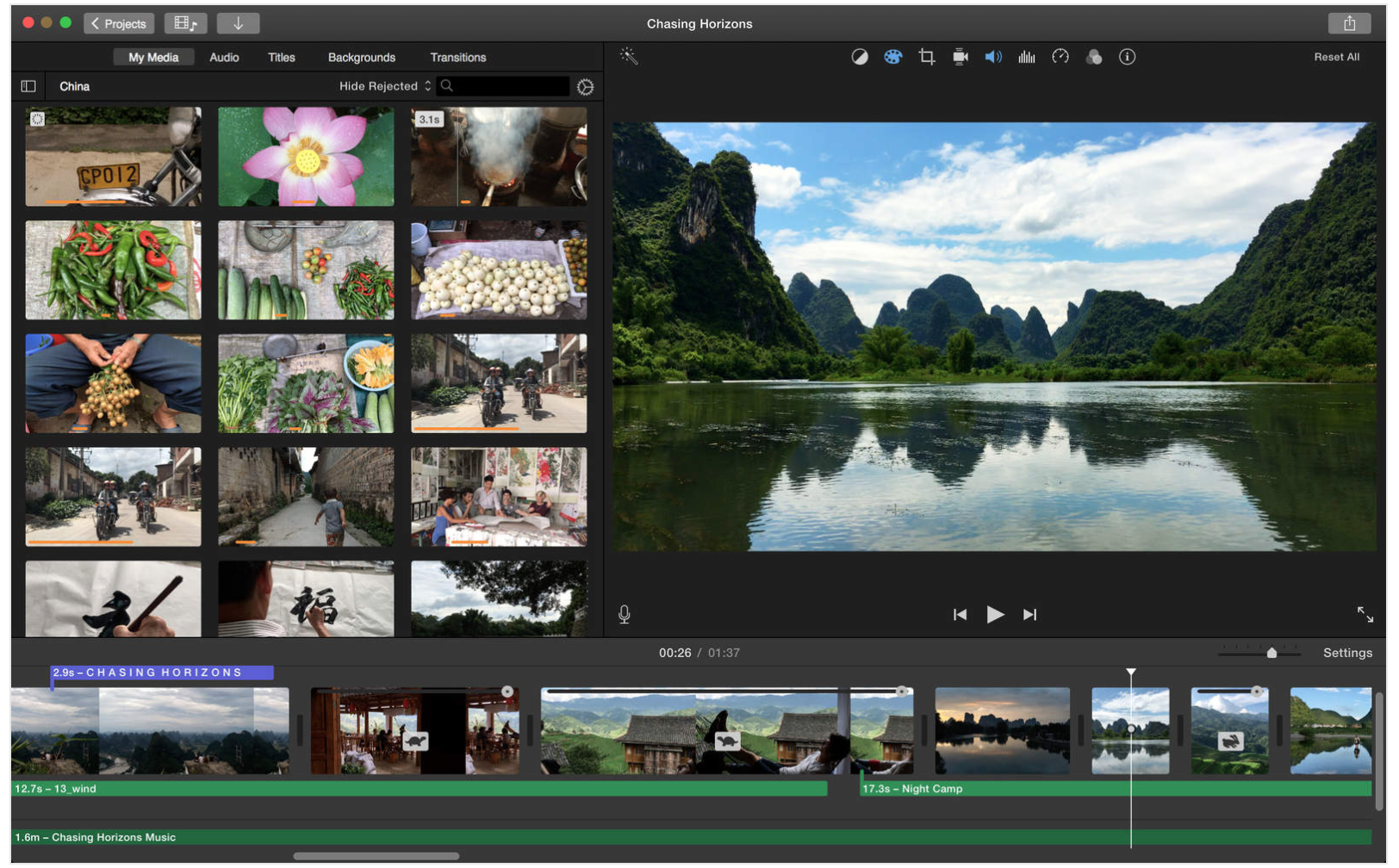 Image result for Apple iMovie