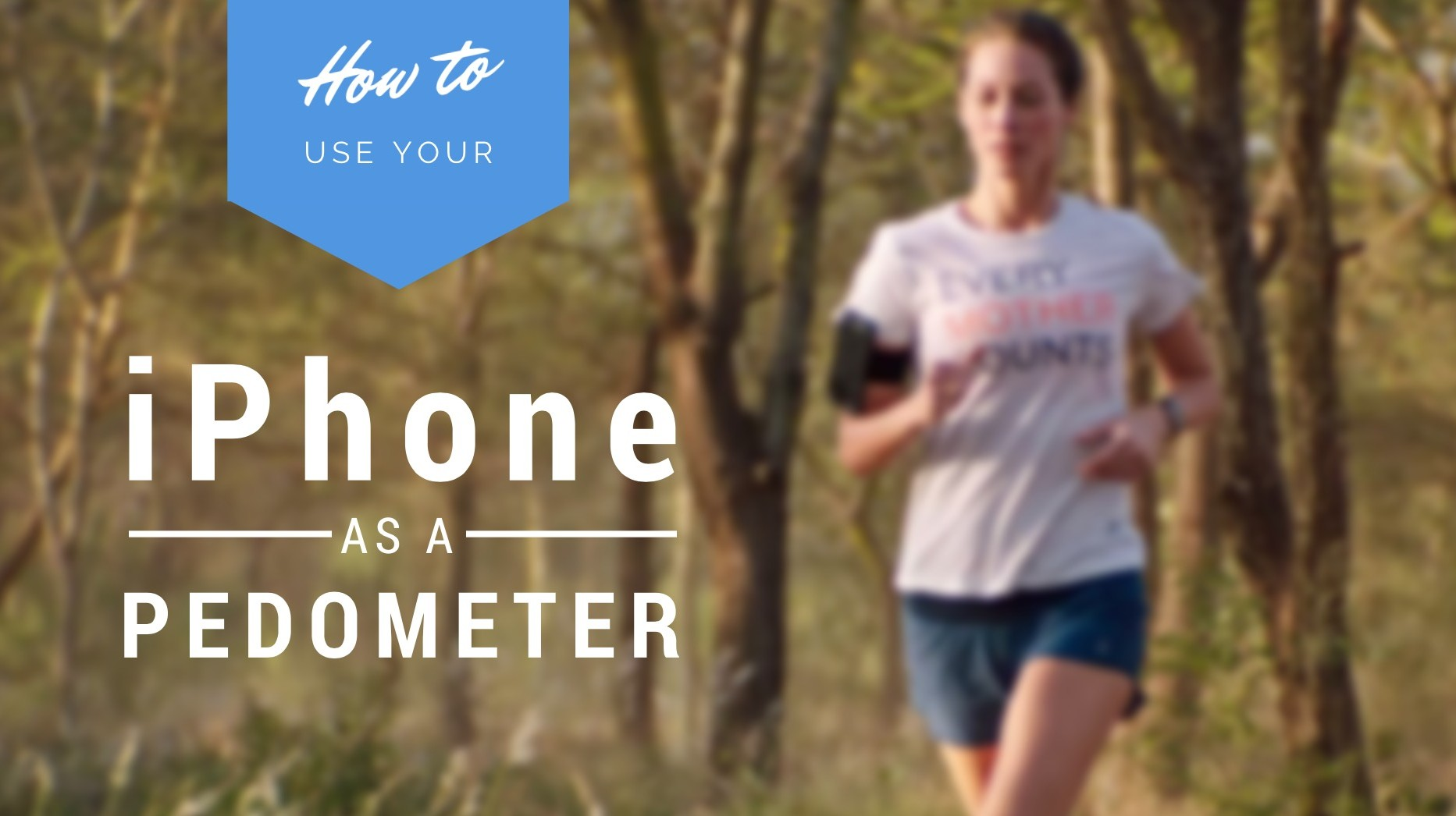 use iPhone as step counter pedometer
