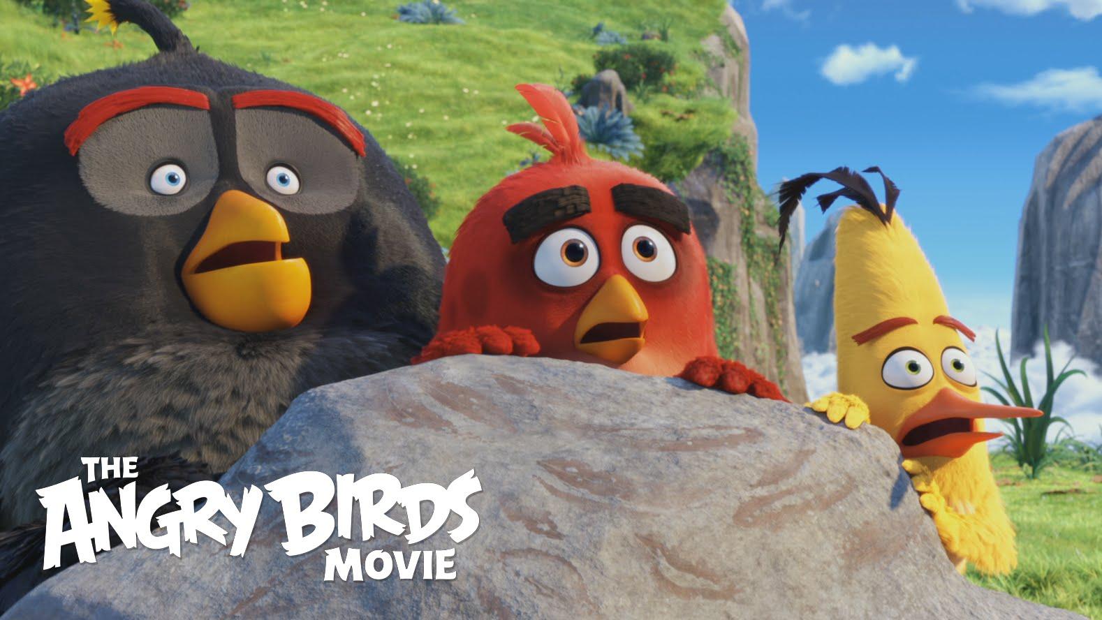 Cartel de la película Angry Birds
