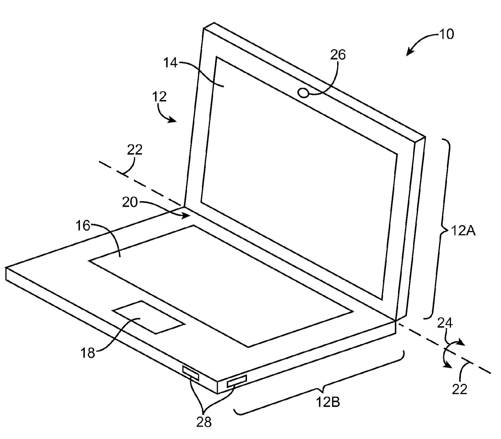 Apple Patent cellular MacBook drawing 002