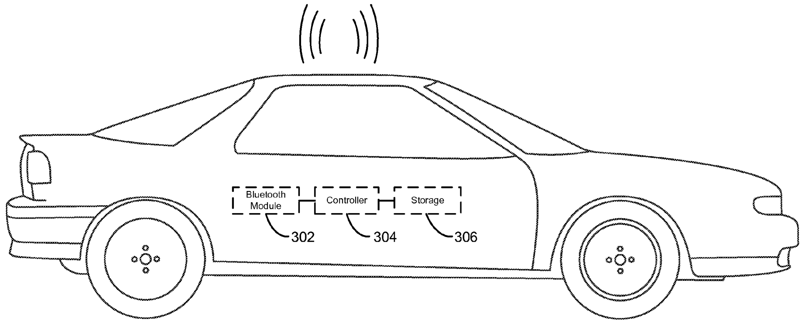 Apple patent advanced vehicle control drawing 001