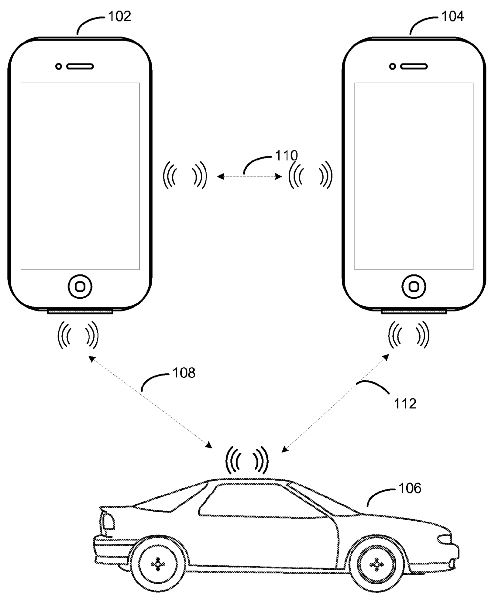 Apple patent advanced vehicle control drawing 002
