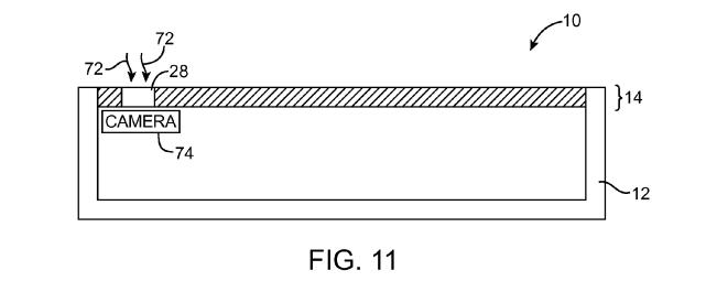 Apple patent see-through display