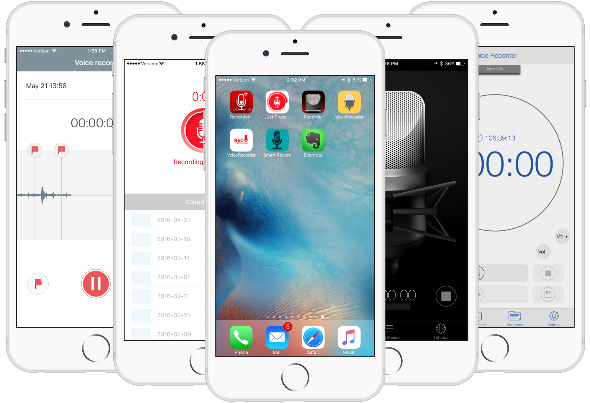 best voice recorder app for iphone 5s