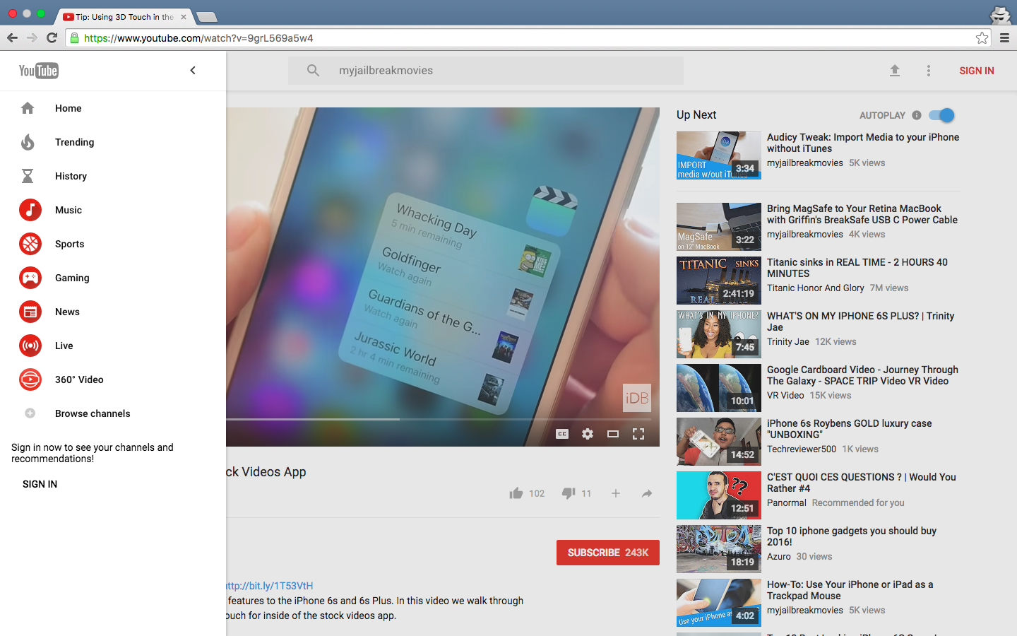 Chrome for OS X Material Design Mac screenshot 007