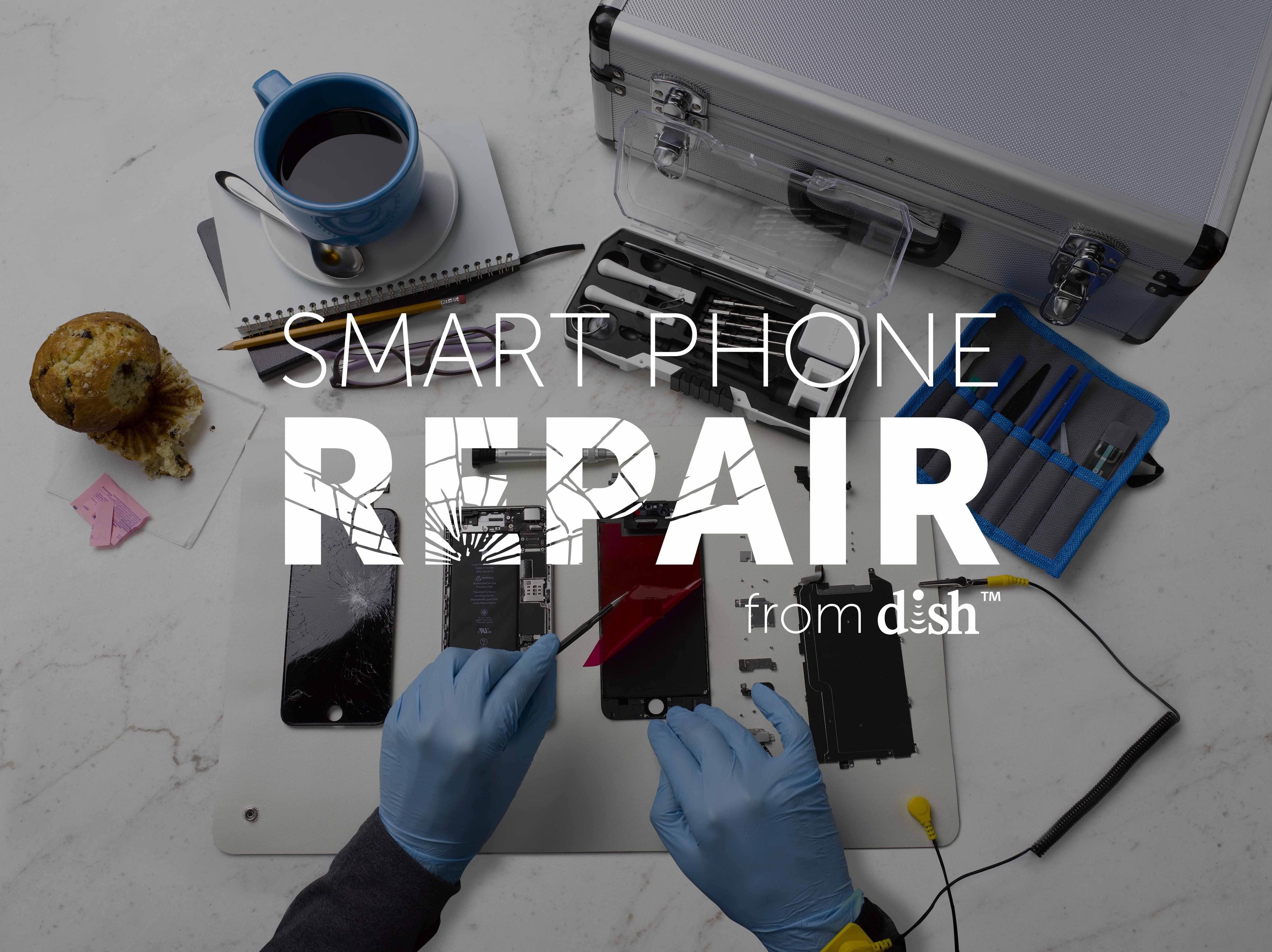 Dish smartphone repair image 002