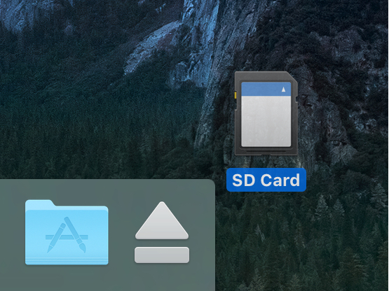 Eject Media With the Mac Trash Icon on the Dock