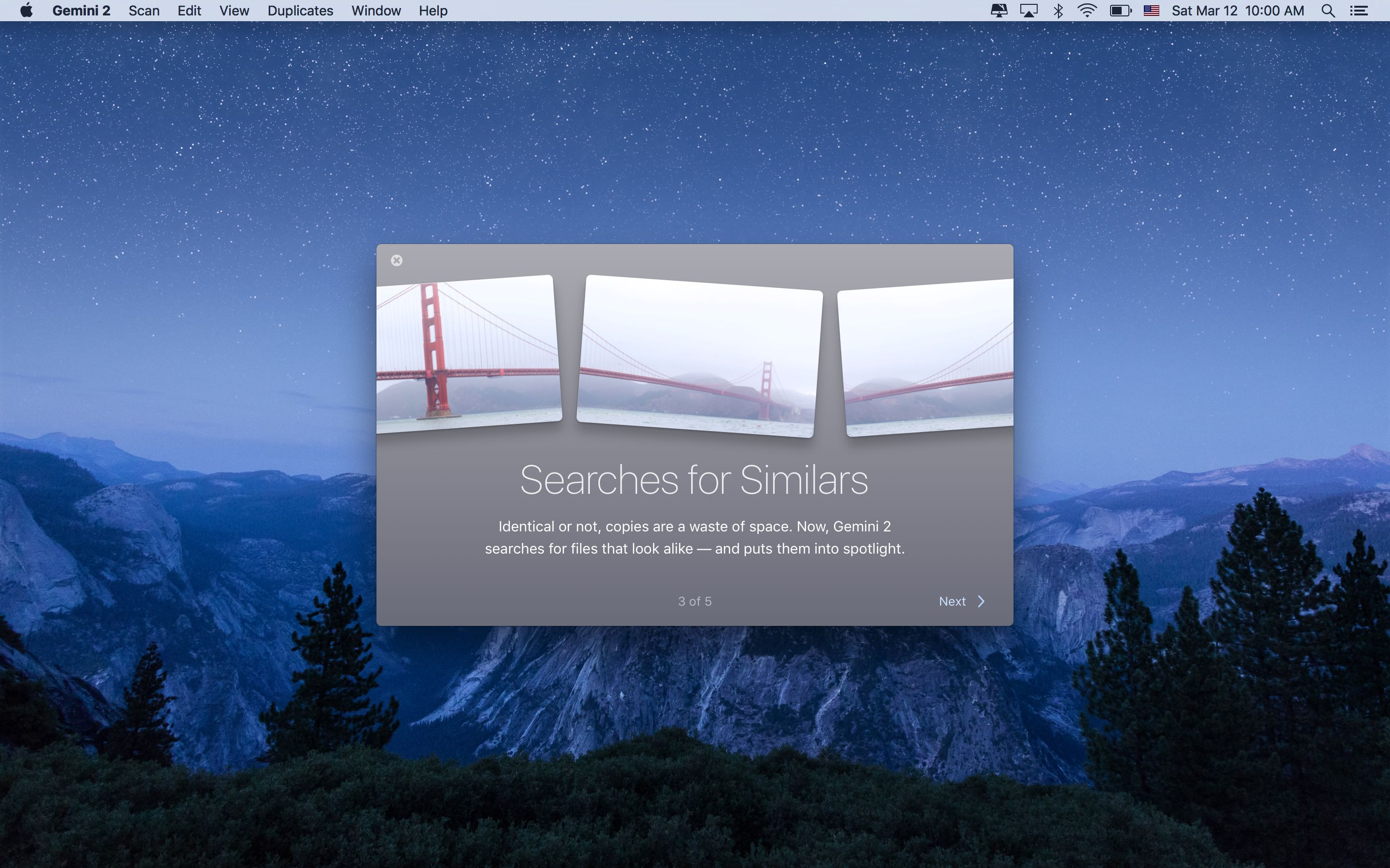 Gemini 2.0 for OS X Intro Mac screenshot 006