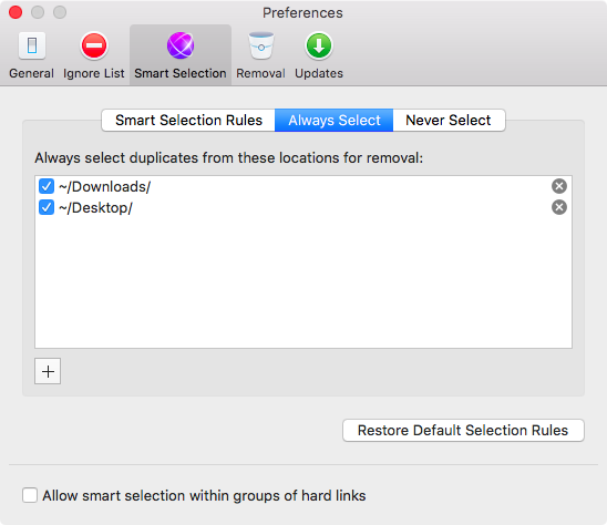 Gemini 2.0 for OS X Settings Mac screenshot 003
